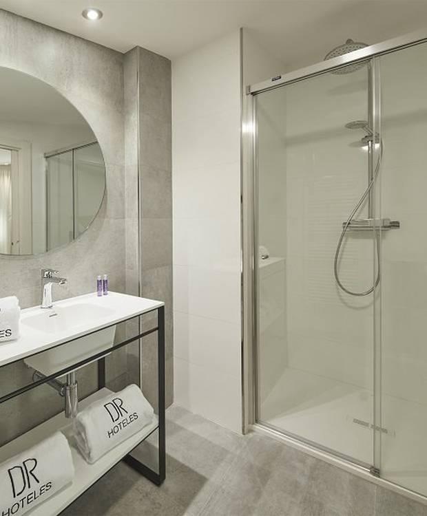 Salle de bains Appartement Dos Ríos Hôtel et aparthotel Dos Ríos