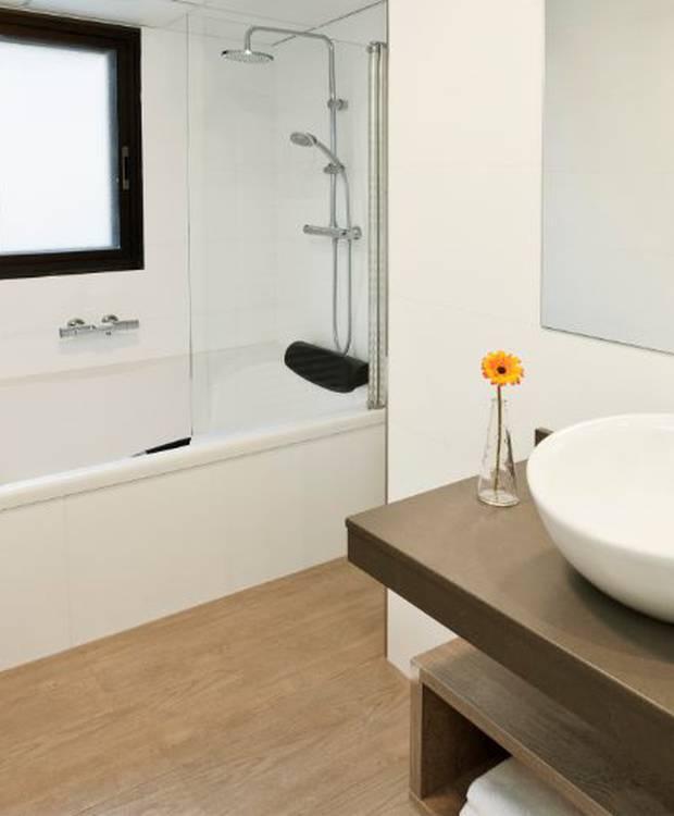 Salle de bains Hôtel et aparthotel Dos Ríos